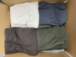 18 Bulk Mens Assorted Colors And Sizes Polar Fleece With Side Pockets