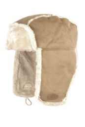 12 Bulk Winter Faux Suede And Fur Trapper Hat