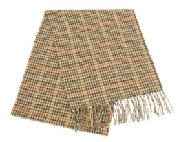 24 Bulk Mens Winter Plaid Scarf In Brown