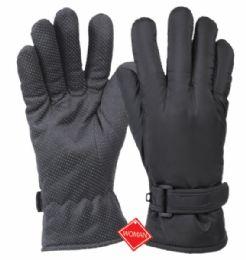 12 Bulk Ladies Waterproof Glove W/thermal Fleece Lining