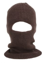 24 Bulk Knit Ninja Winter Mask in Assorted Color