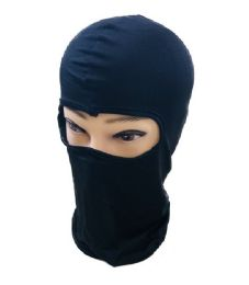 36 Bulk Ninja Face Mask Black Only