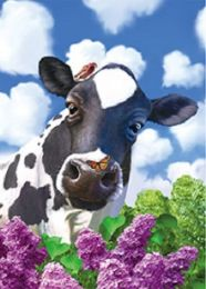 40 Bulk 3D Picture Cow with Butterfly