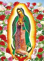 40 Bulk 3D Picture Our Lady of Guadalupe Virgin Mary