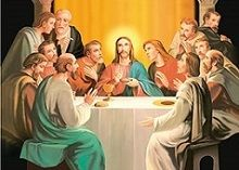 40 Bulk 3D Picture Jesus With Apostles