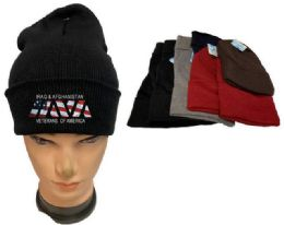 36 Bulk Iraq And Afghanistan Veterans Mix Color Winter Beanie