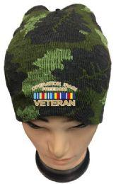 36 Bulk Operation Iraqi Freedom Veteran Camo Winter Beanie