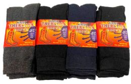 72 Bulk Man Winter Thermals Socks
