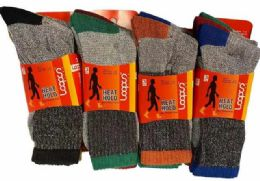 72 Bulk Man Thermal Socks