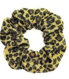 72 Bulk Assorted Leopard Pattern Scrunchies