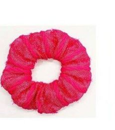 72 Bulk Solid Color Scrunchies