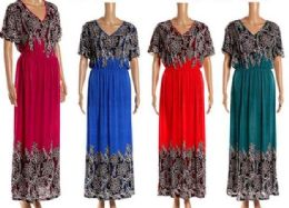 12 Bulk Plus Size Long Maxi Dress