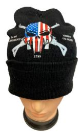 36 Bulk Liberty Or Death Winter Hat