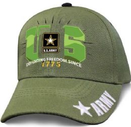 12 Bulk Official Licensed US Army Green Basic Training Hats