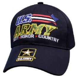 12 Bulk Racing Stars Official Licensed Army Baseball Hats