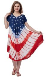 12 Bulk Plus Size USA Rayon Umbrella Dresses