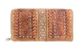 5 Bulk Montana West Tooled Collection Wallet
