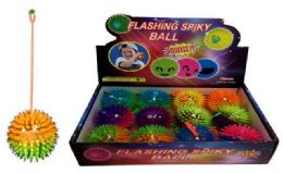 96 Bulk Spike Light Up Ball