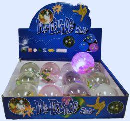 72 Bulk High Bounce Water Ball Lizard Lights Display Box