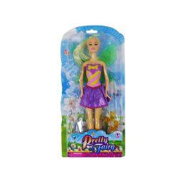 12 Bulk Pretty Fairy Doll