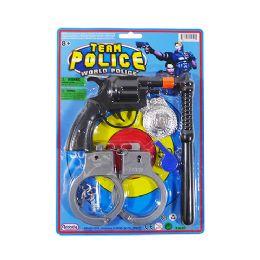 24 Bulk Team Police Play Set
