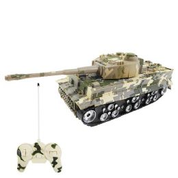 12 Bulk Light Up Remote Control Battle Tank with Sound