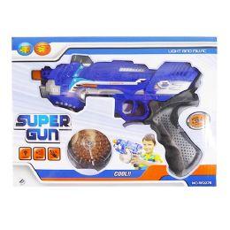 36 Bulk Light Up Super Gun With Sound