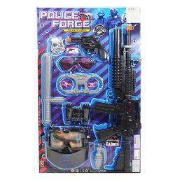 12 Bulk Police Force Play Set