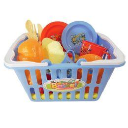 18 Bulk Shopping Basket Play Set