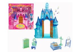 18 Bulk MAGIC CASTLE WITH LIGHT AND SOUND