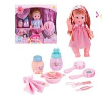 10 Bulk BEAUTY BABY DOLL WITH SOUND AND ACCESORIES