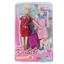 12 Bulk Kaibibi Flight Attendant Doll