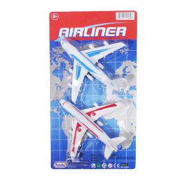 18 Bulk Pullback Airliners 2 Piece Set