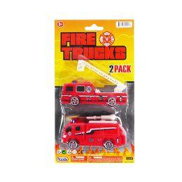 36 Bulk Fire Trucks 2 Piece Set