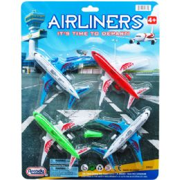 72 Bulk Airliners Play Set On Blister Card