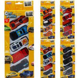 72 Bulk Diecast Cars And Trucks In Pegable Window Box