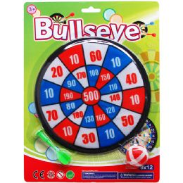 72 Bulk DART BOARD WITH ACCESORIES ON BLISTER CARD