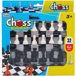 48 Bulk CHESS PLAY SET IN PEGABLE WINDOW BOX