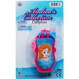 96 Bulk Princess Cellphone On Blister Card