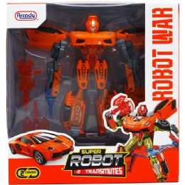 12 Bulk Transforming Robot With Accss In Window Box