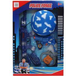 12 Bulk TOY POLICE SET