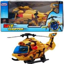 24 Bulk BUMP AND GO CHOPPER WITH LIGHT AND SOUND