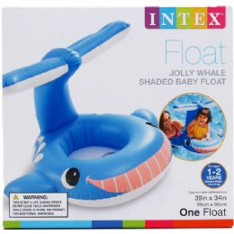 12 Bulk WHALE BABY FLOAT IN COLOR BOX