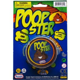 144 Bulk POOPSTER PUTTY ON BLISTER CARD
