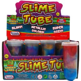 96 Bulk METALLIC COLOR SLIME TUBE