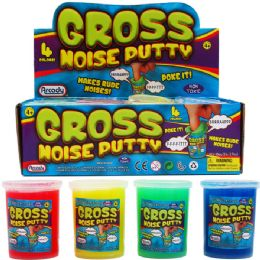 96 Bulk GROSS NOISE PUTTY IN DISPLAY BOX