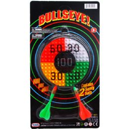 72 Bulk 2 DART BULLSEYE TARGET GAME SET