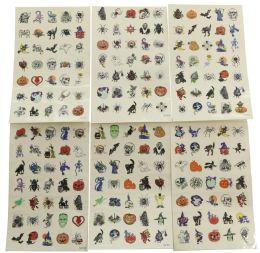 96 Bulk Temporary Tattoos Assorted