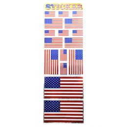 96 Bulk PATRIOTIC STICKERS