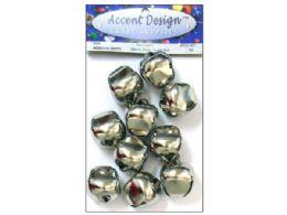 90 Bulk 10pc Silver Jingle Bell Value Pack